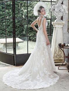 Darija Wedding Dress by Maggie Sottero   back