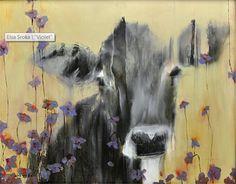 """Violet by Elsa Sroka Oil ~ 24"""" x 30"""""""