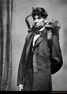 Abraham Lincoln : Vampire Hunter - Abraham Lincoln faisait aussi partie des Ghostbusters