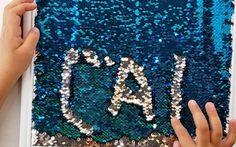 DIY Mermaid Sensory Writing Tray via @lemonlimeadv