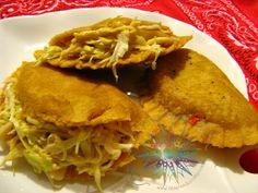 Cocina Costarricense: empanadas arregladas