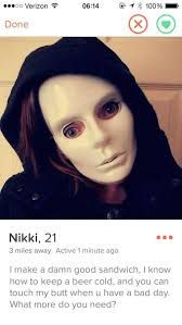 Tinder is a great app that let's people meet one another with a single swipe left or right. These Tinder users don't mess around and get right to the point. Love Memes, Funny Memes, Hilarious, Dating Memes, Dating Tips, Funny Tinder Profiles, Introverted Leaders, Divorce Humor, Psychology Books