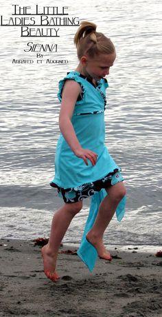 Bathing Beauty Swim Wear A Modest Swim Suit by ArrayedetAdorned, $75.00