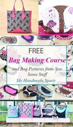 bag sewing patterns | free bag patterns | purse sewing patterns |