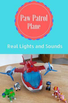 paw patrol plane