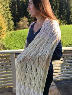 Wesslinger See Schal Shawls, Knits, Ravelry, Knitting, Crochet, Pattern, Handmade, Design, Fashion