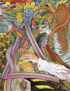 Die Harfe des M.C.Escher