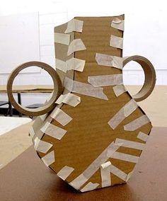 New diy paper kids papier mache 58 ideas Cardboard Sculpture, Paper Mache Sculpture, Cardboard Crafts, Cardboard Paper, Paper Mache Projects, Paper Mache Crafts, Art Projects, Diy Paper, Paper Art