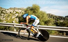 Bike - Andy at Ironman 70.3 Mallorca 2014