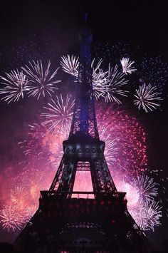 Eiffel Tower on national day! Paris