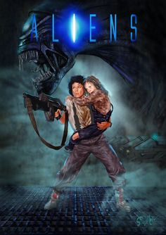 Comic Movies, Sci Fi Movies, Old Movies, Horror Movie Posters, Movie Poster Art, Horror Movies, Alien Vs Predator, Alien Ripley, Giger Alien