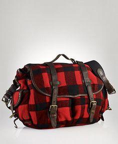 Polo Ralph Lauren Buffalo Messenger Bag - Macy's