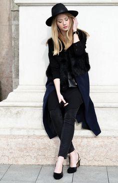 Vest – SheIn / Jeans – Tezenis / Shirt – Forever21 / Shoes – Jessica Buurman / Bag – Coccinelle / Hat – Vintage.