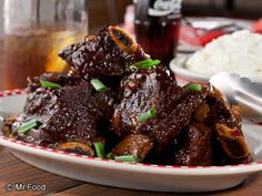 Cola Ribs |    tender Cola Short Ribs recipe anytime you want a hearty one pot main dish meal.