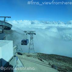 Día 10. La vista desde aquí (Day 10. The view from here): Desde el Sistema Teleférico de Mérida. (From the Mérida Cable Car, Venezuela.) #FMSPAD #FMSPhotoADayFeb #FMSPhotoADay #FMS_viewfromhere #BFYT #STM #TelefericoDeMerida #Mukumbari #Merida #Venezuela #MeridaPreciosa