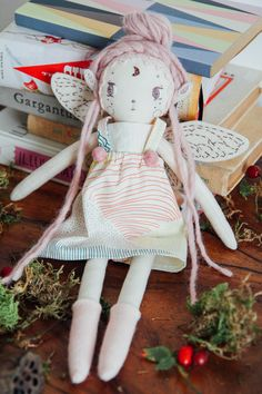 A Candy Fairy, heirloom doll by ZanaLuna