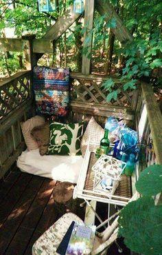 Joy veranda. Or joy gazebo.