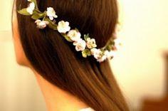 como hacer coronas de flores - Buscar con Google
