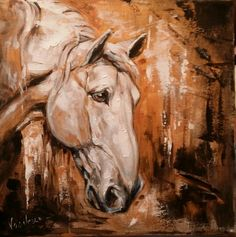 expressive horse