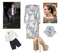 """Windsor Family arriving in Brasilia for Day 1"" by royal-fashion ❤ liked on Polyvore featuring Just Cavalli, Sergio Rossi, Old Navy, Lauren Conrad and Tiffany & Co."