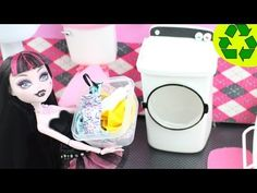 Make a Doll Washer / Dryer- Doll Crafts - YouTube