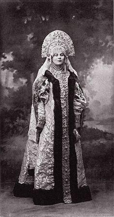 Elena Dmitrievna Rodzyanko (Rodzianko) born Naryshkin at the costume Ball in the Winter Palace, circa 1903.....098 by klimbims on deviantART