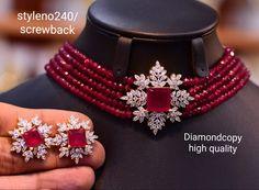 Gold Bangles Design, Gold Jewellery Design, Gold Jewelry, Pearl Jewelry, Beaded Jewelry, Fancy Jewellery, Bridal Jewellery, Stylish Jewelry, Jewelry Design Earrings