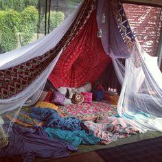 We all should have a tent retreat