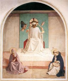 Fra Angelico, The Mocking of Christ, c. 1438-52