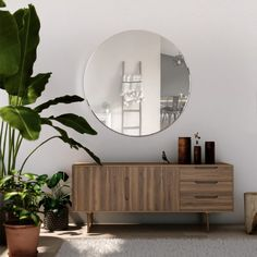 Large Round Mirror, Circular Mirror, Round Mirrors, Round Glass, Large Mirrors, Decorative Mirrors, Beveled Edge Mirror, Mirror 3, Wall Mirrors