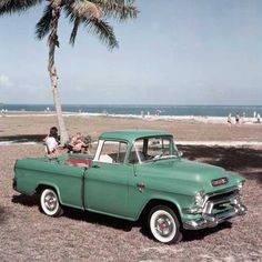 1956 GMC Pick up. Swoon.