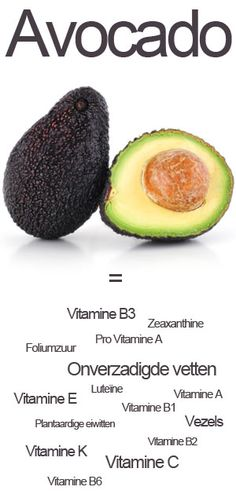 De avocado! Een geweldig gezond product dat rijk is aan vele belangrijke voedingsstoffen.