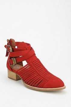 Jeffrey Campbell Stinson Cutout Ankle Boot