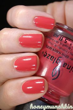 China Glaze - Passion For Petals #nailpolish #chinaglaze #avantgarden