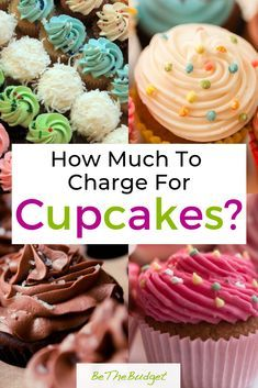 Struggling to figure out how much to charge for your cupcakes? This guide will help you find the perfect price for all your cupcakes and decorating options. Your cupcake business is going to thrive! #cupcakes #bakesale #cupcakebusiness www.bethebudget.com Bakery Business Plan, Baking Business, Cake Business, Business Ideas, Baking Cupcakes, Cupcake Recipes, Baking Recipes, How To Bake Cupcakes, Cupcakes For Sale