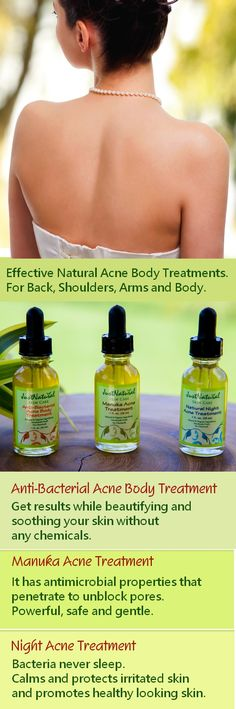 Fast absorbed for quick results. Ultra-concentrated acne body treatments for extra strength makes this so effective that it immediately stops the breakout  or pimple from getting bigger and helps it to disappear. Learn more at http://www.justnaturalskincare.com/9/acne/-anti_bacterial_serum.html