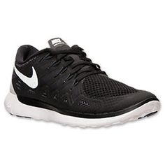 Nike Free 2014 Womens Black White Anthracite 642199 001 com cheap nike shoes d0a3114a1