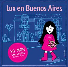 Lux en Buenos Aires! Señor Mor.   #pink #lux #muñeca #buenoaires #argentina #kids #store #doll #tigre Illustration, Comic Books, Comics, Cover, Pink, Movie Posters, Art, Buenos Aires, Argentina