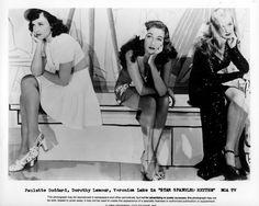 Paulette Goddard, Dorothy Lamour, and Veronica Lake  - STAR SPANGLED RHYTHM