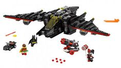 The #LEGO #Batman Movie The Batwing - http://www.thebrickfan.com/the-lego-batman-movie-summer-2017-sets-revealed/