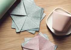Scandinavian design + Japanese origami
