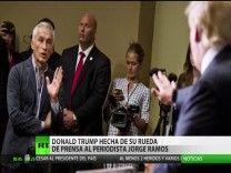 Donald Trump Expulsa Al Periodista Latino Jorge Ramos De Su Conferencia De Prensa #Video