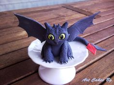How to train your dragon cake topper