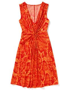 Gracious Gathering    Extra material at the bust line coupled with a v-neck works to accentuate a smaller bust in this flirty number.    Sofia by Sofia Vergara Gathered Front Dress, $17.50; Kmart.com  Sizes XS-XL available.
