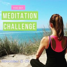 Join us inside our Facebook group for the free 5 day meditation challenge next week!  #meditation #meditate #meditatedaily  #om #aum #namaste #being #beinghuman #innerpeace #innerbeauty #light #love #createrich #manifestpowerfully #richgirlsinc