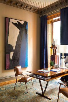 Living Room in Brooklyn, NY by Glenn Gissler Design