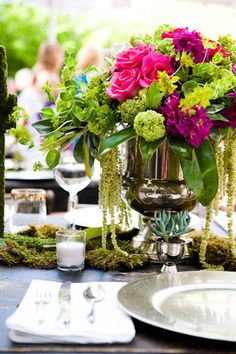 Real Austin intimate wedding- reception table ideas at the Hotel Saint Cecilia- love the succulents!