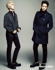 Xia and Micky - Marie Claire Korea, August 2014 Issue