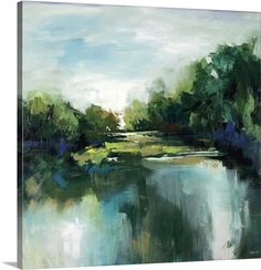Fresh Escape II by Sydney Edmunds LOVE it! have a huge version of this hanging by soaking tub in master bath.
