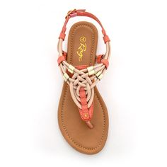 R185.00 Coral Flats, Flat Sandals, Womens Flats, Rage, Shoes, Zapatos, Shoes Outlet, Footwear, Shoe